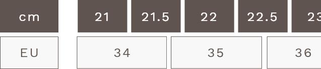 EUサイズ表1