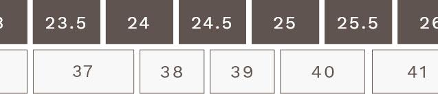 EUサイズ表2